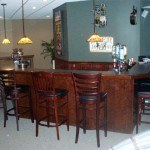 New Custom Basement Bar