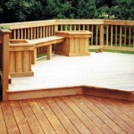 Custom Cedar Seating