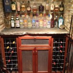 New Custom Walk Up Basement Bar