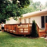 Cedar Deck and Railings