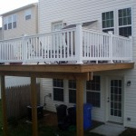 Timbertex Decking with PVC Railing