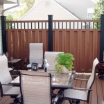 New Custom Timbertex Privacy Fence