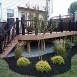 New Timbertec Deck and Landscaping