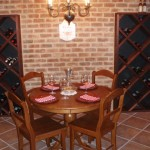 Eat in Custom Climate Controlled Wine Room