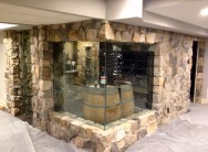 New Custom Climate Controlled Wine Room