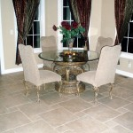 Ceramic Breakfast Nook with Electric Heated Flooring