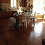 New Laminate Flooring in Kitchen