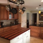 New Custom Kitchen with Butcher Block Top