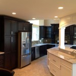 New Kitchen With Custom Island