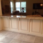 Granite Countertop Kneewall