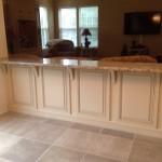 Granite Countertop Kneewall