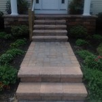 Front Entry Paver Walk Way
