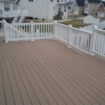 Timbertex Decking with PVC Railings