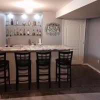 Custom Basement Bar