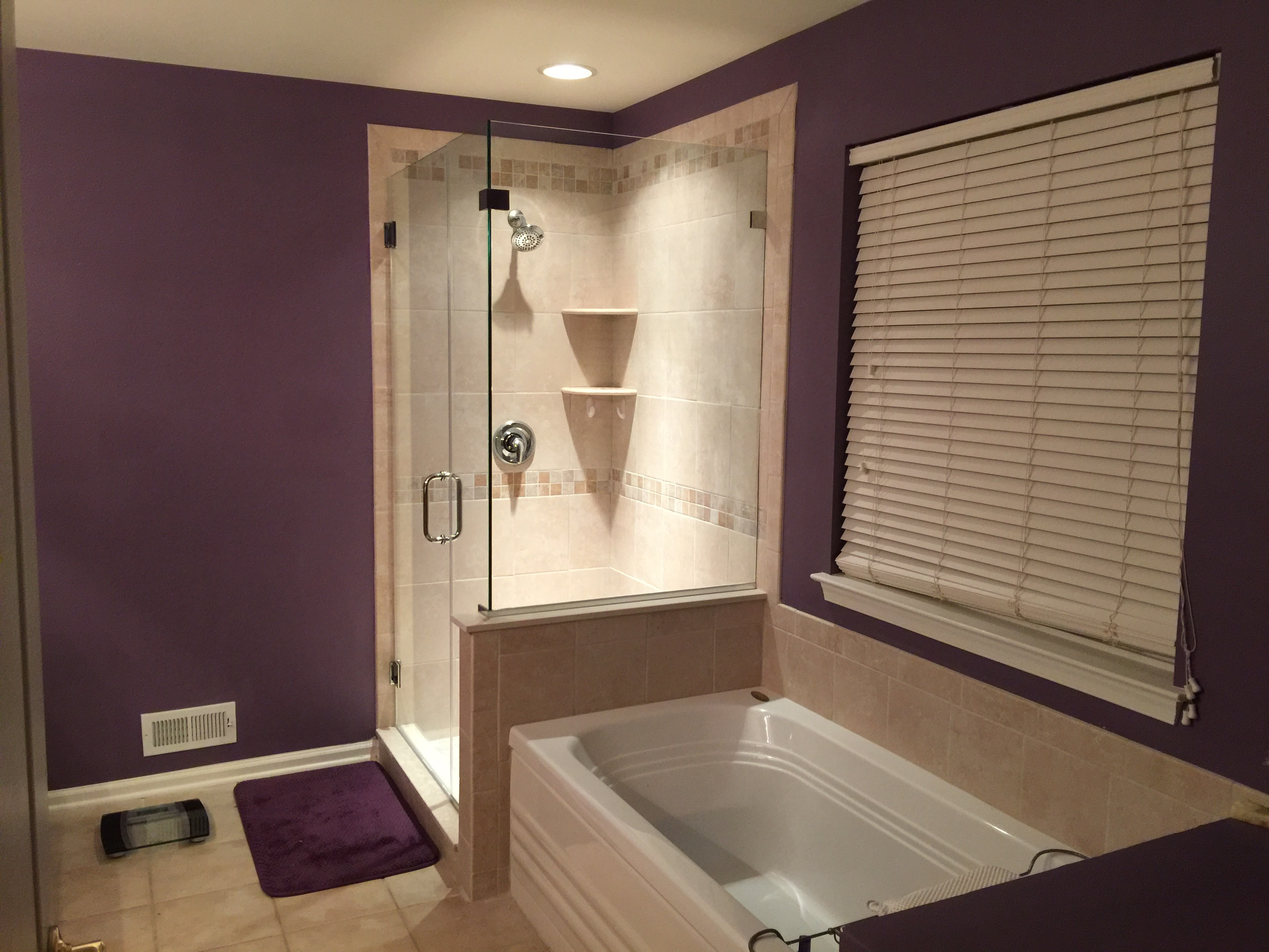 Bathroom remodel in mantua located in south jersey a for Bath remodel nj