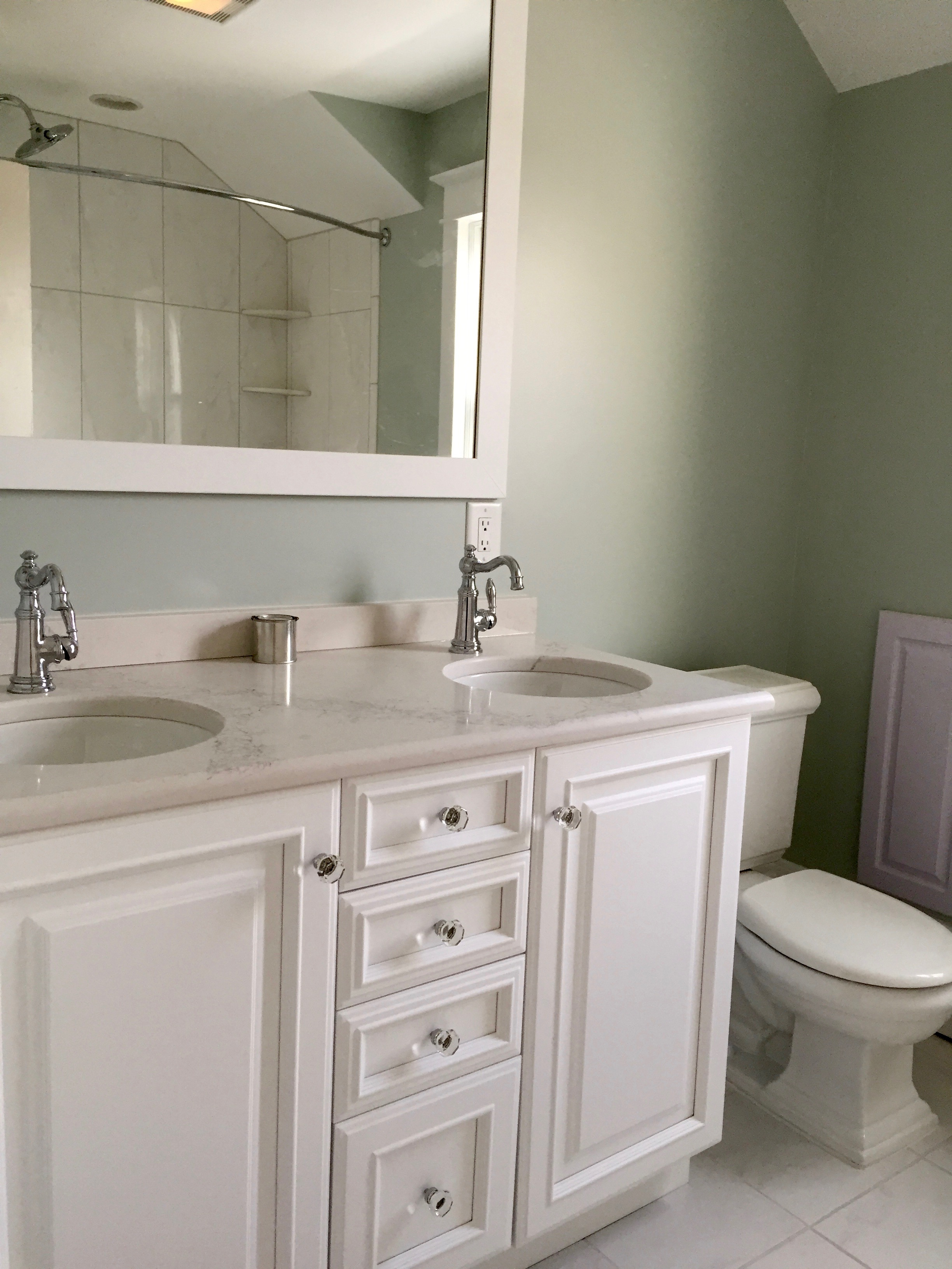 Bathroom renovation in newfield located in south jersey for Bathroom remodel nj