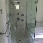 Multi Head Shower with Frameless Glass