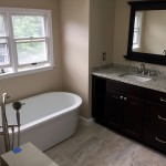 Bathroom Renovation with Free Standing Tub