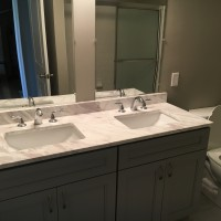 New double vanity and fixtures